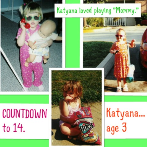 2002: Katyana at the age of 3